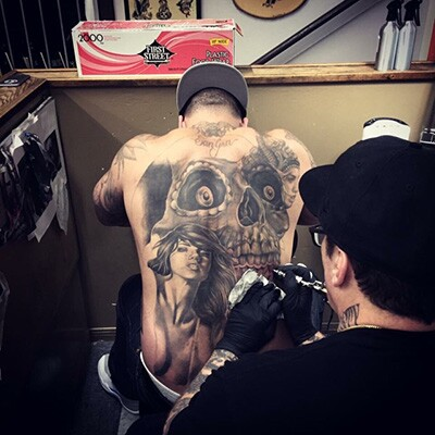 Freddy Negrete Tattooing | Courtesy of the Artist