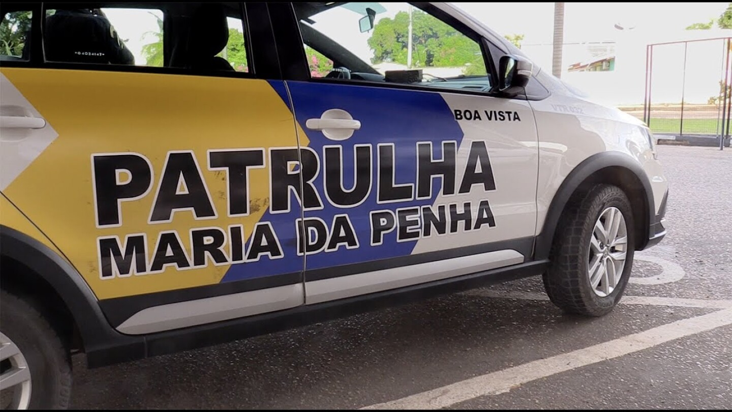 Police vehicle in Brazil, a country with a high homicide rate for women. | Human Rights Watch