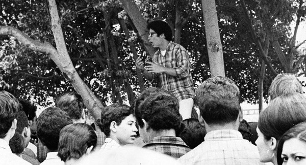 John Ortiz, student leader at Garfield High in East L.A. during the student walkouts in 1968