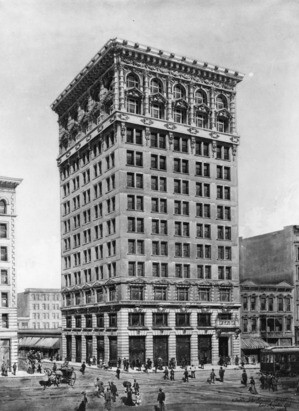 Braly Block, 1903 | Courtesy of the Los Angeles Public Library