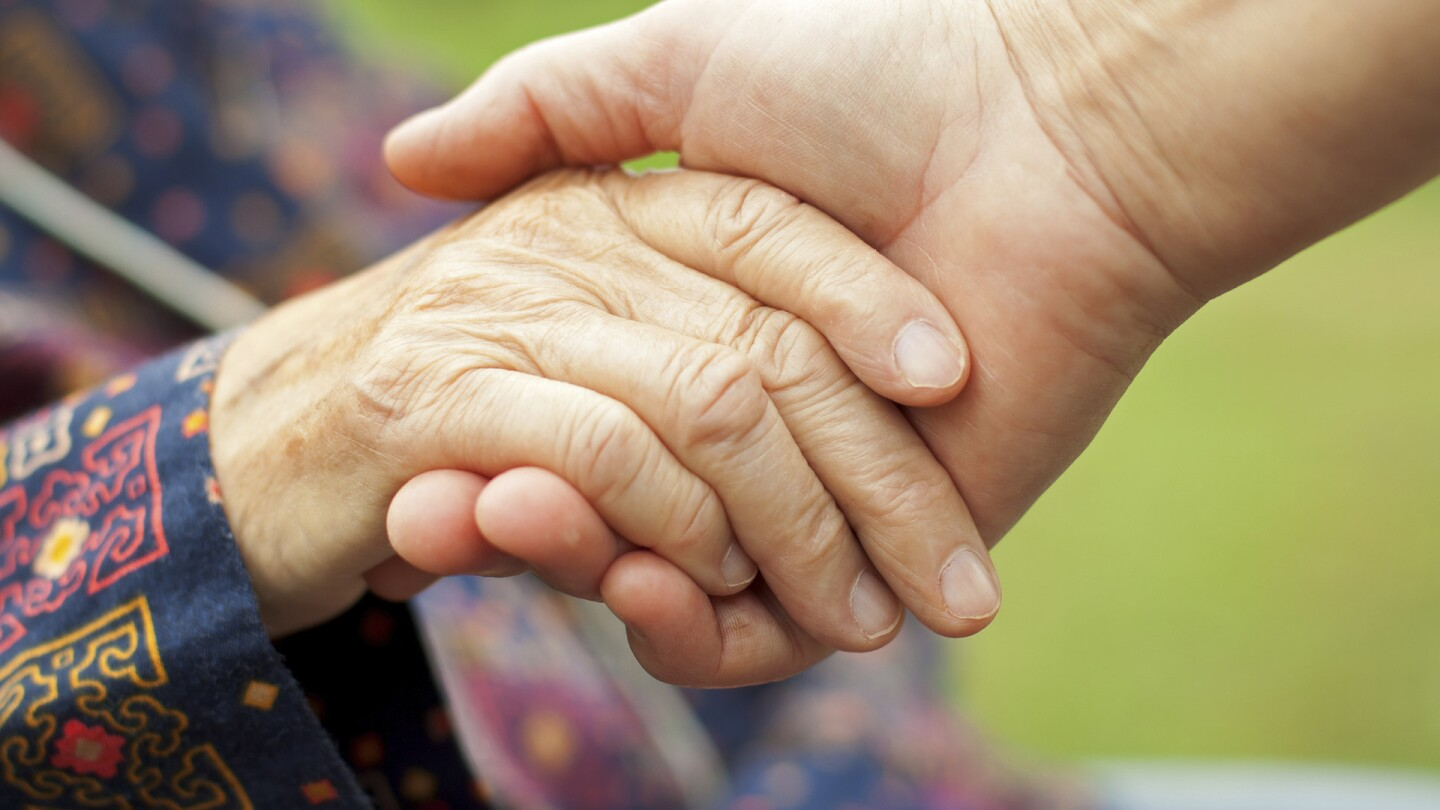 Aging Hand, Young Hand