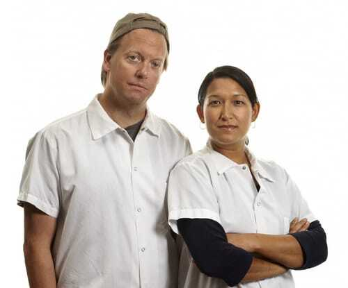 Chefs Daniel Mattern and Roxana Jullapat | Andrea D'Agosto