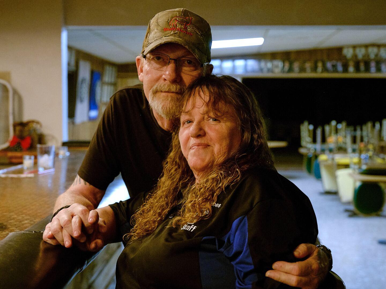 Jim and Jeanne Michel, Elks Lodge, Trona, Ca.   Osceola Refetoff