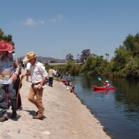 L.A. River is open for recreation between Fletcher Drive and San Fernando Road, from Memorial Day to Labor Day
