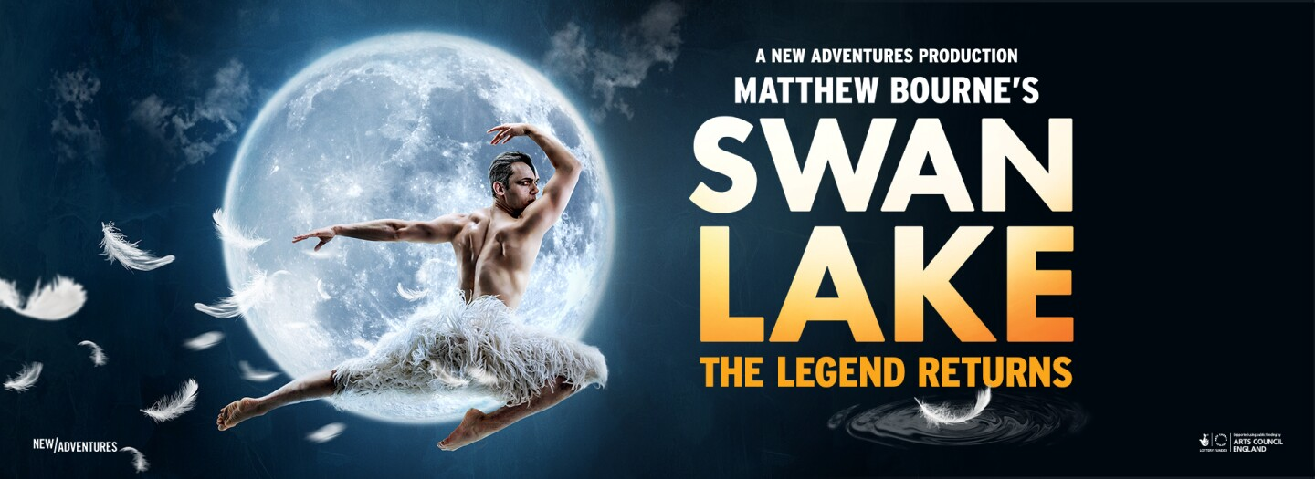 Poster for Matthew Bourne's Swan Lake