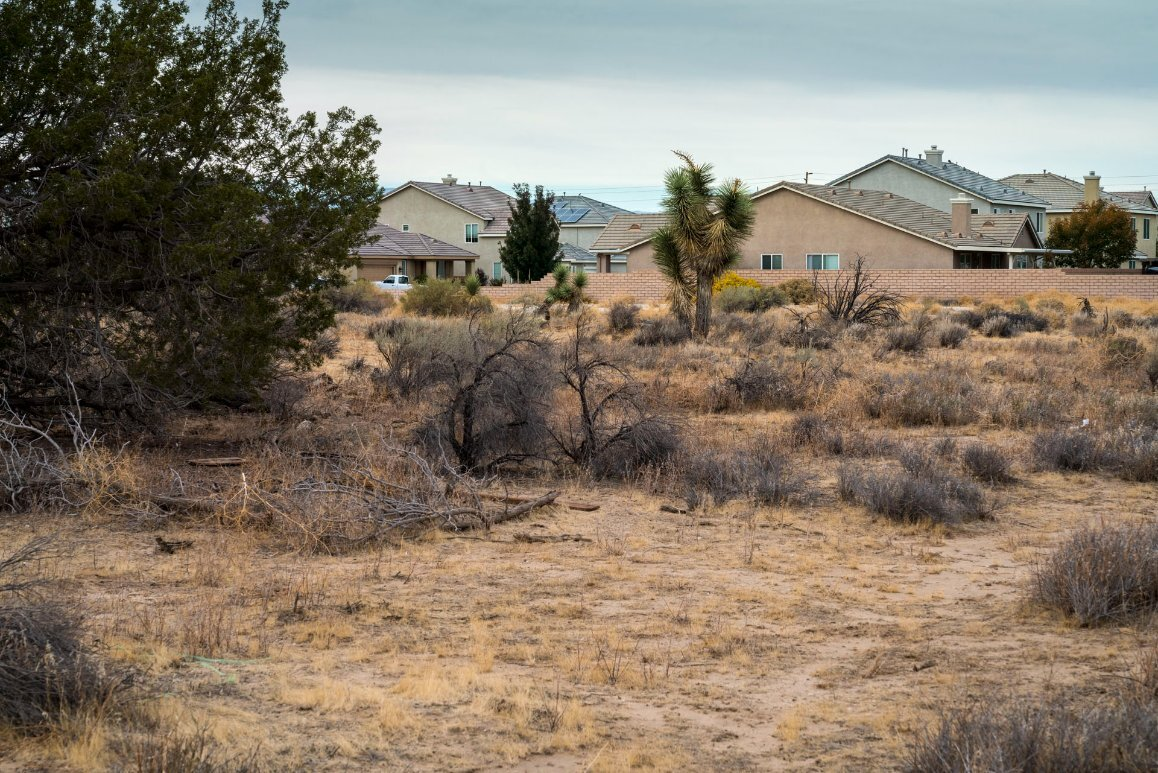 A residential site near Avenue J and 50th Street in Lancaster, CA | Kim Stringfellow © 2017