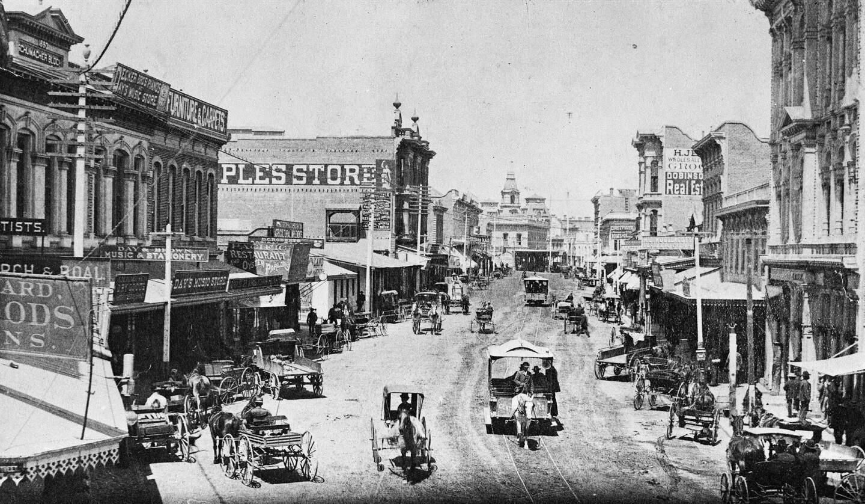 Spring Street, 1885