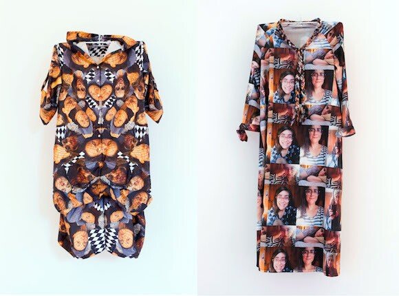 "CamLab's selfie dresses from ""Permissionary"" (2013)"