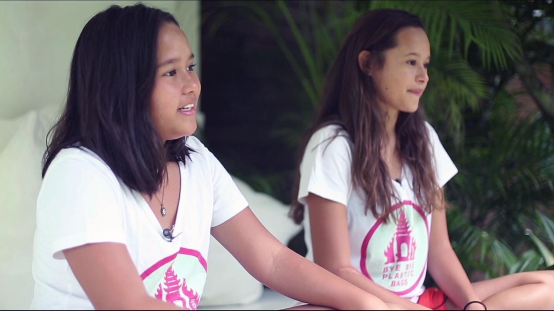 Towards the Human City: Bye Bye Plastic Bags Melati & Isabel
