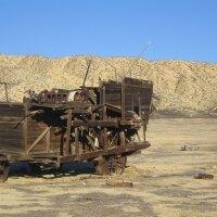 Carrizo Plain: Van Matre Harvester