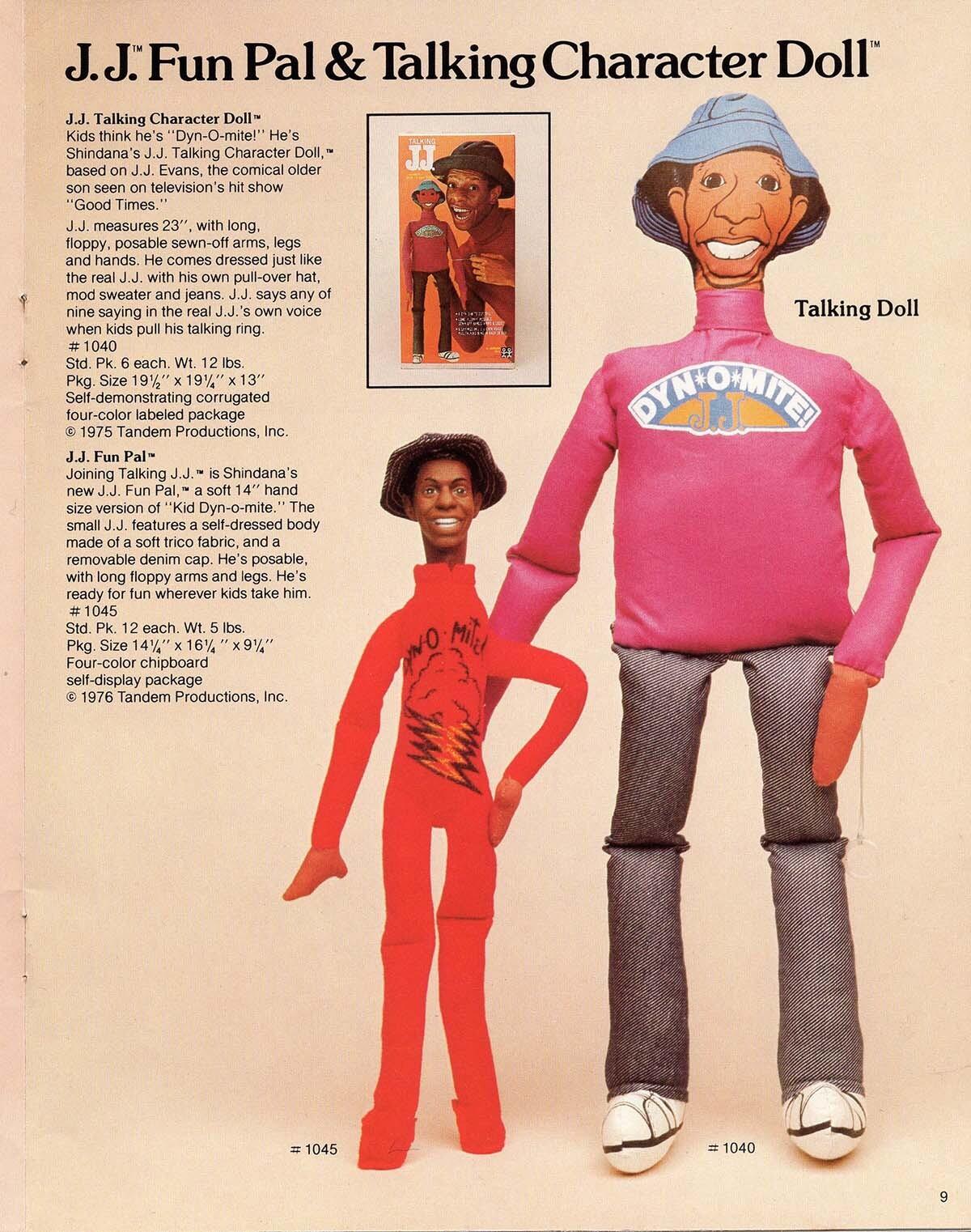 The J.J. Fun Pal & Talking Character Doll