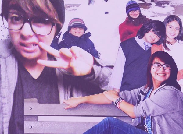 Collage By: Justine M. - Tittle: My Brothers and I