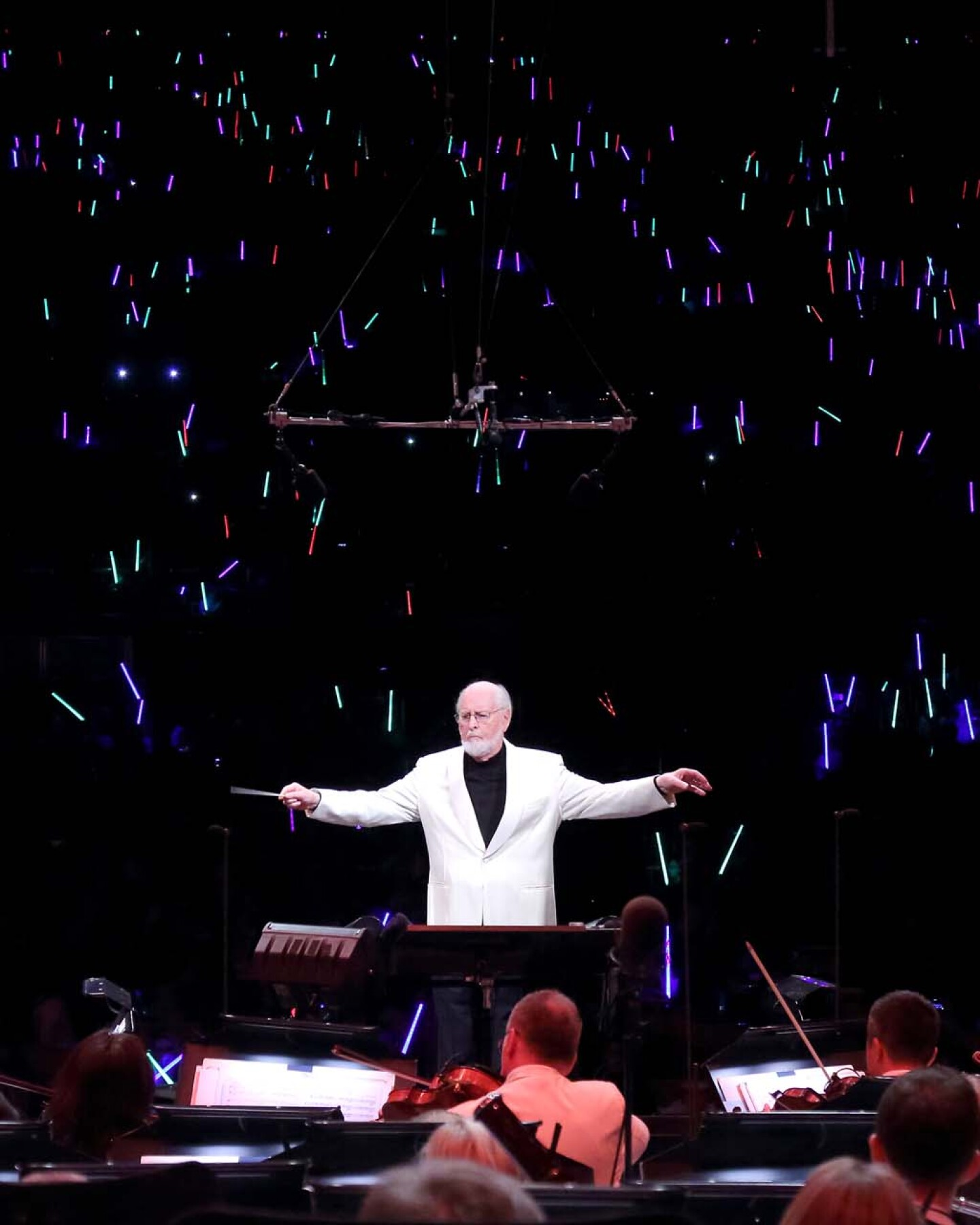 John Williams conducts the LA Phil at the Hollywood Bowl | Craig T. Mathew/Mathew Imaging