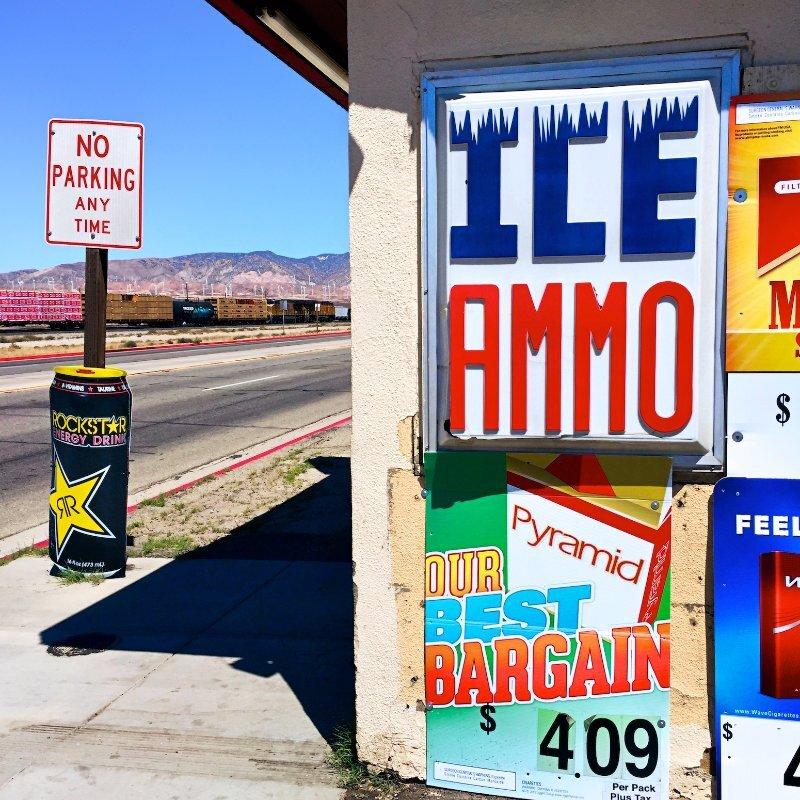ICE/AMMO – Mojave, CA – 2016 | Osceola Refetoff