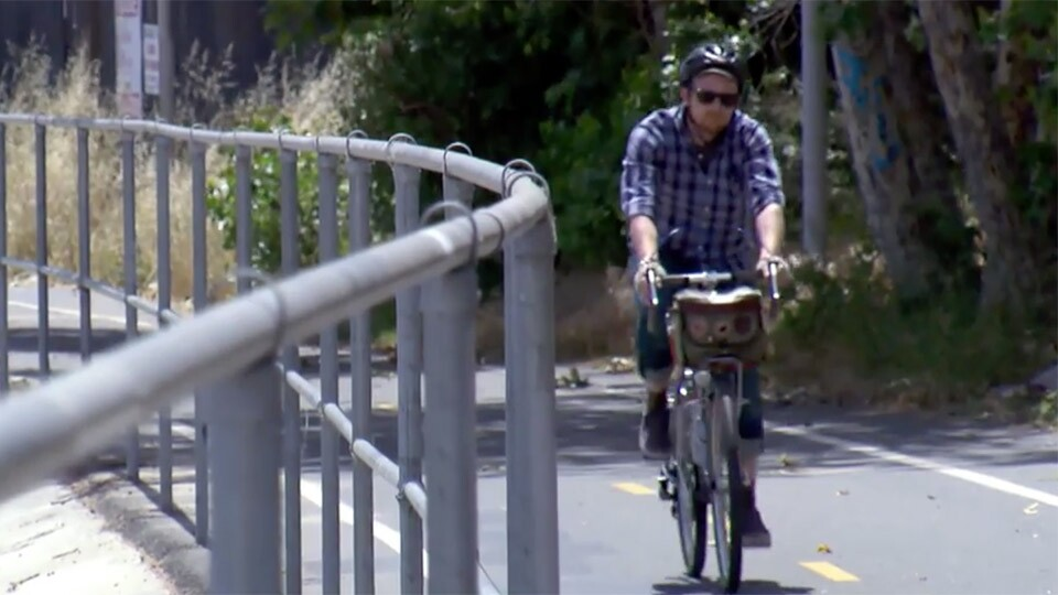Los Angeles River Biking