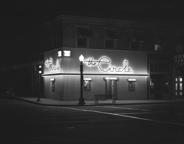 The Circle Cafe located at 953 E. Colorado, Pasadena, November 25, 1946.  Photograph by J. Allen Hawkins.  Image courtesy of the Archives, Pasadena Museum of History (Hawkins Collection, #2077)