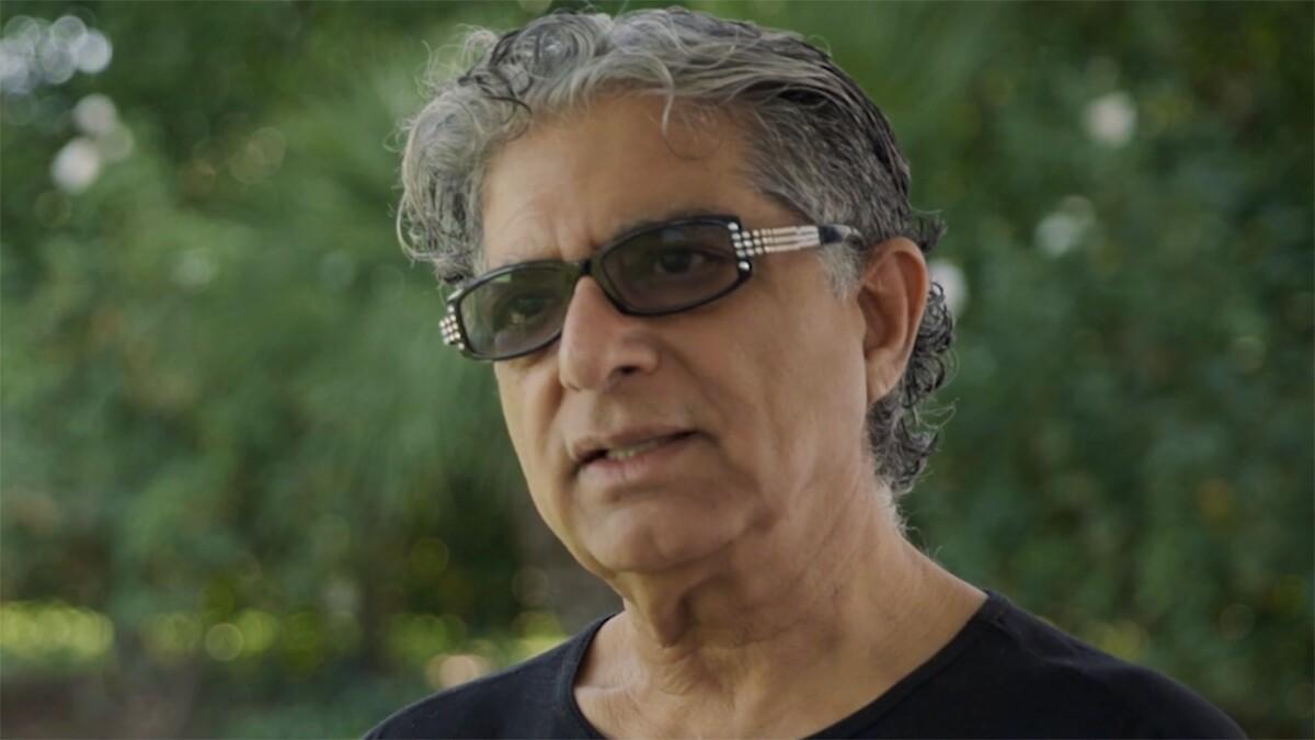 Deepak Chopra   Still From Kamp Solutions