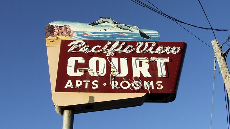 Old motel sign | Photo: Tim Parkinson, some rights reserved