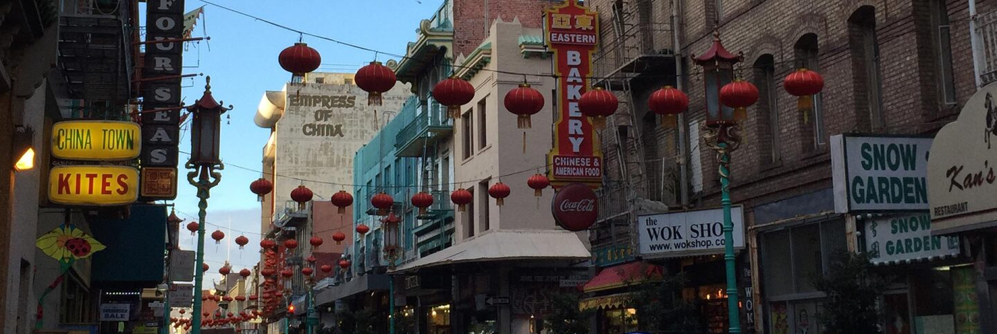 San Francisco's Chinatown | Virginia Miller header