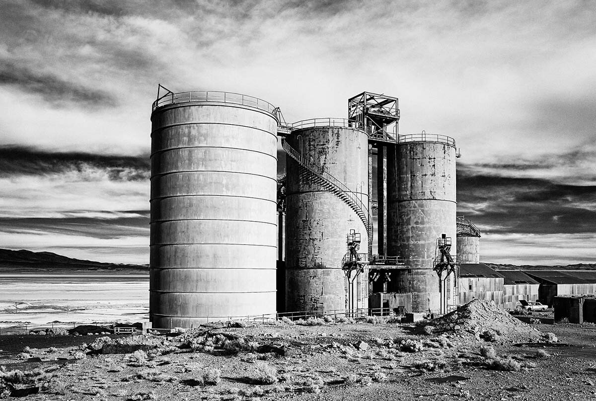 Abandoned PPG Plant - Infrared Exposure - Bartlett, CA - 2012  | Osceola Refetoff