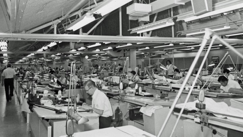 Apollo design engineering. | Courtesy of Columbia Memorial Space Center/ Aerospace Legacy Foundation