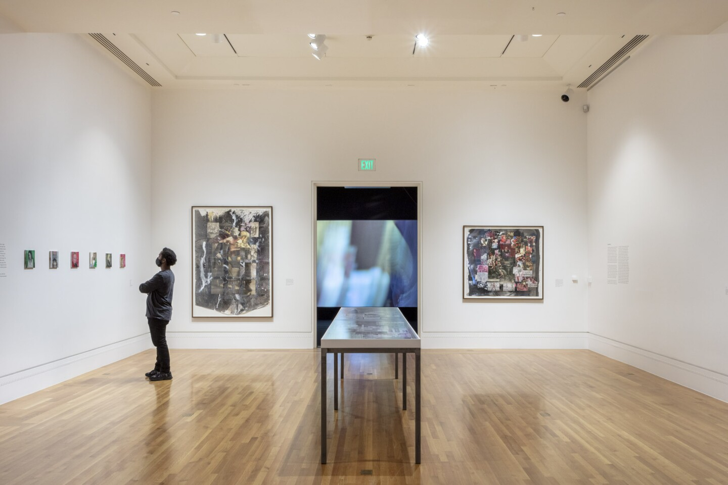"An installation view of Katja Seib's work at ""Made in L.A. 2020: a version"" at The Huntington Library, Art Museum, and Botanical Gardens, San Marino. 