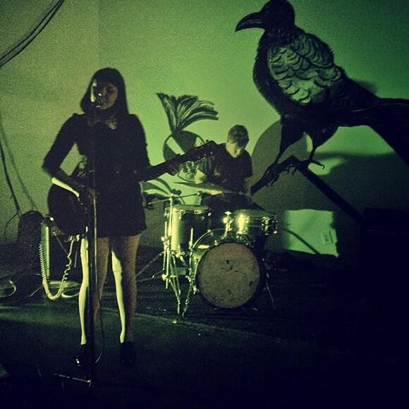 Rachel Birke, playing on September 28, 2013. Photo courtesy Pauline Lay.