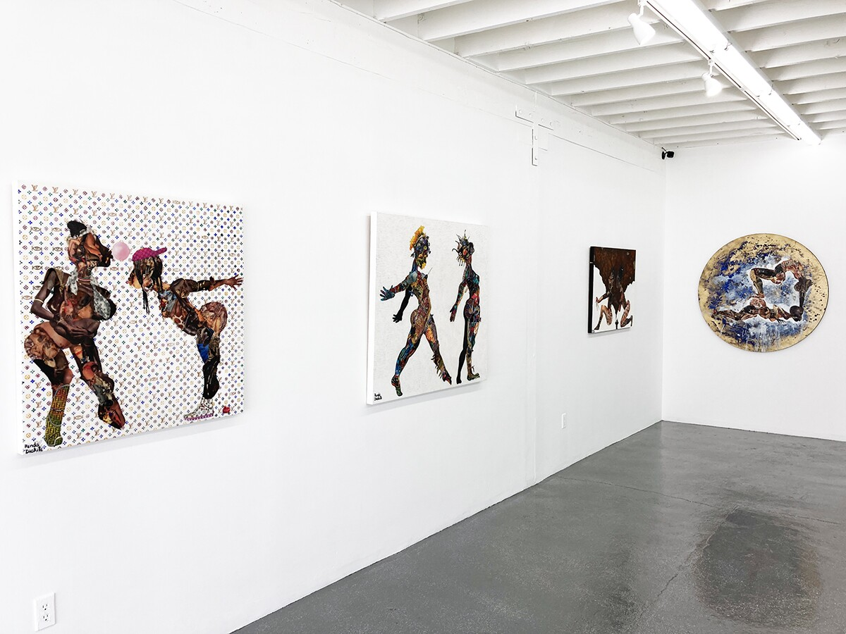 "The ""Mousso-Ya"" exhibition honoring womanhood on view from September 12 to October 24, 2020. The exhibit featured Penda Diakité a Swiss-Mali contemporary artist, and Leila Rose Fanner, who lives in South Africa.  