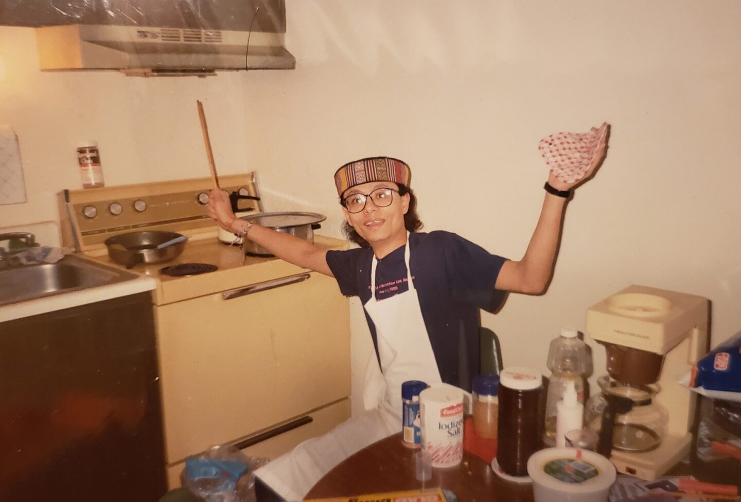 """Anil Shahi learns to cook during his college days. """"I have become a prolific cook now - I love learning and making ethnic recipes from all over the world,"""" Shahi shared. 