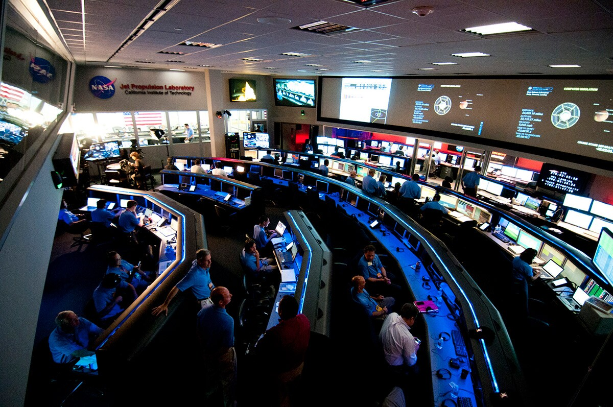 The Space Flight Operations Facility, a National Historic Landmark. | NASA/JPL-Caltech