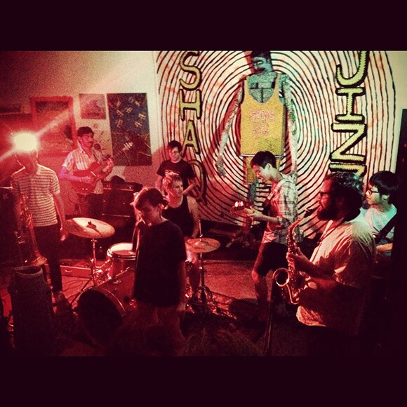 Moon Pearl, playing in May 2012. | Photo courtesy Pauline Lay.