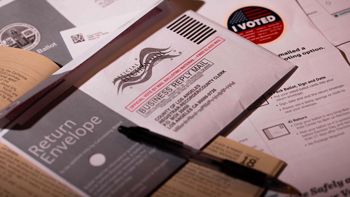 Los Angeles California, October 8, 2020: Voting ballot material. | Jorge Villalba / iStock