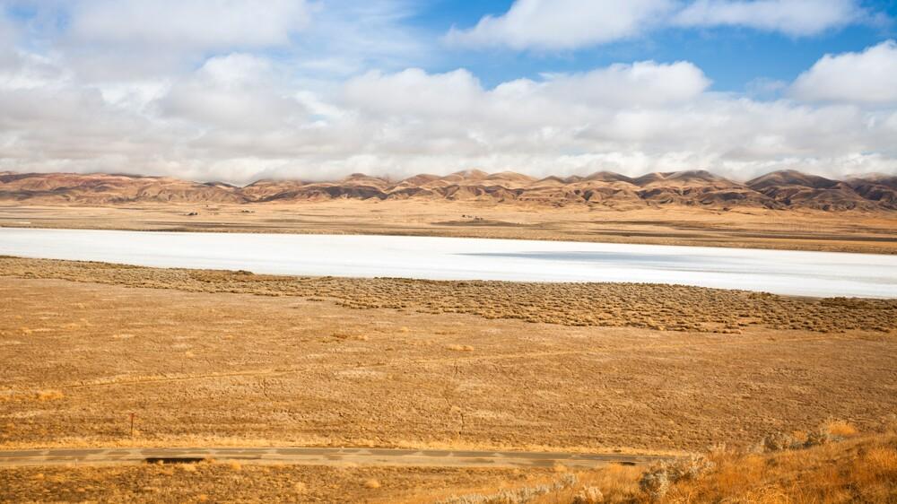 Soda Lake in Carrizo Plain National Monument   Photo: pgiam/iStockPhoto