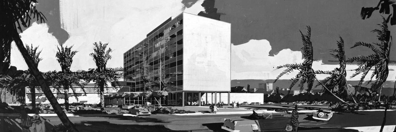 Parker Center (1952 rendering)