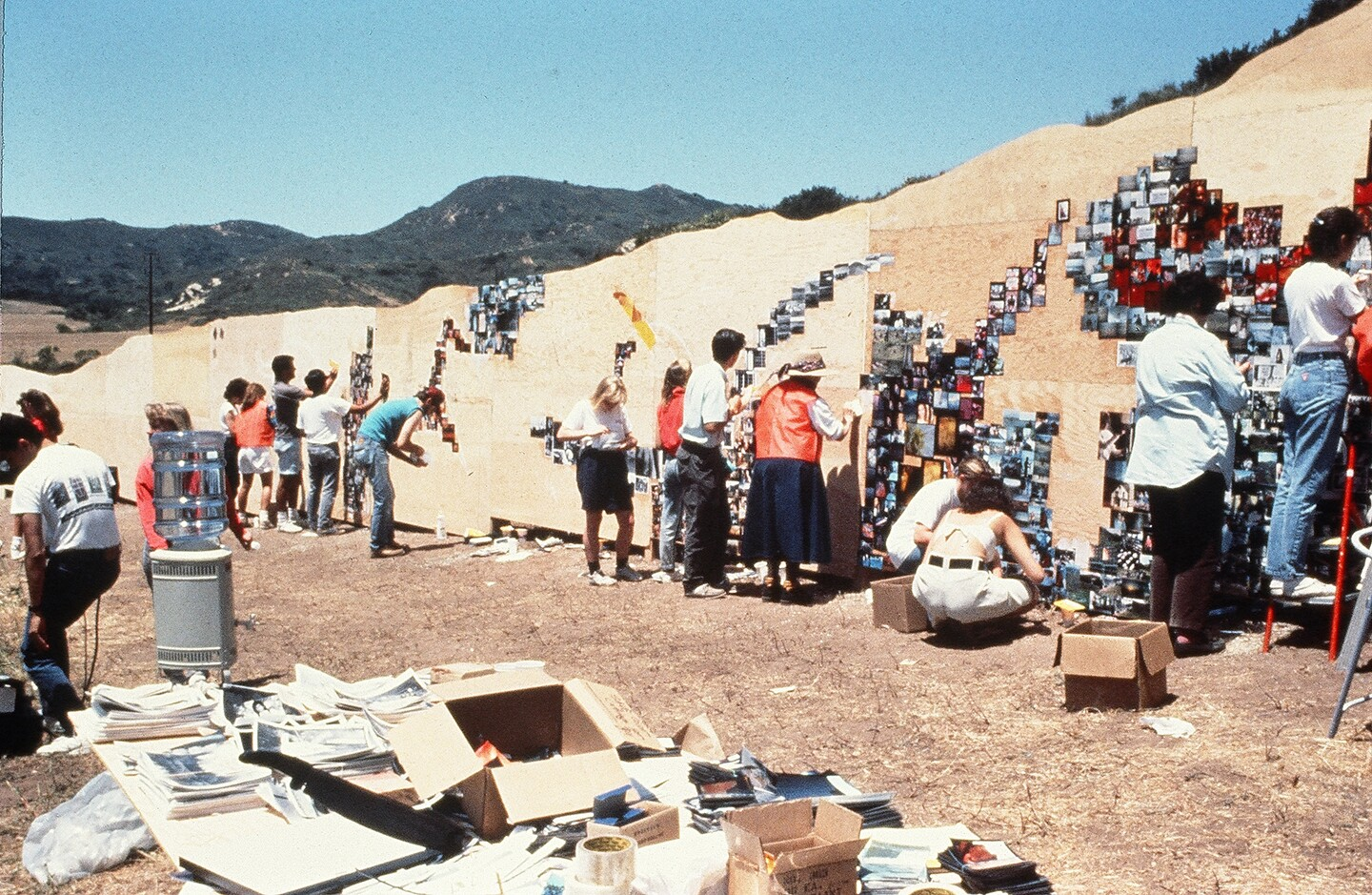 The Laguna Canyon Project by artists Mark Chamberlain and Jerry Burchfield | Photo: Courtesy of BC Space