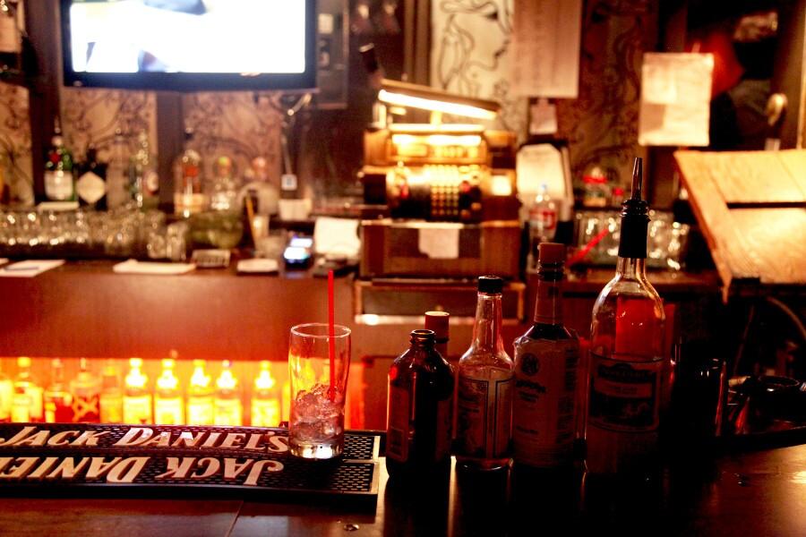 The Dresden bar