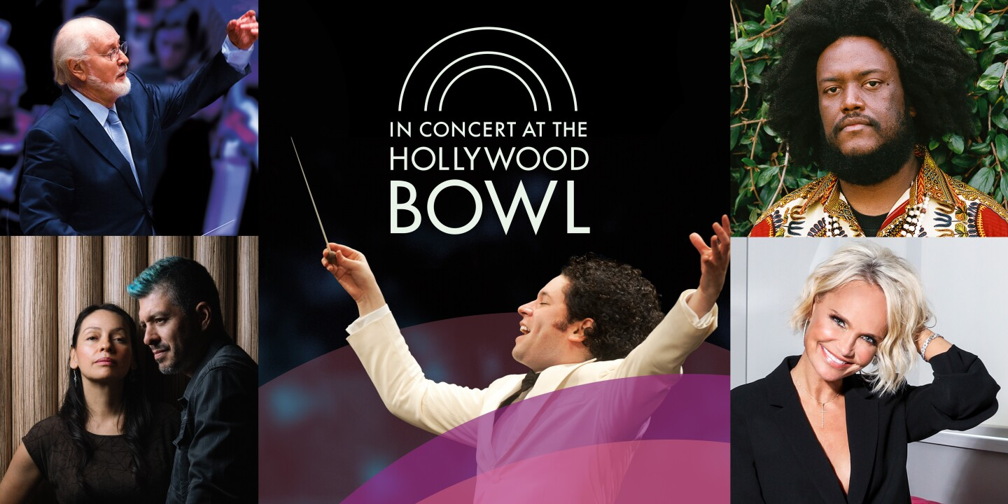 IN CONCERT AT THE HOLLYWOOD BOWL, Key Art