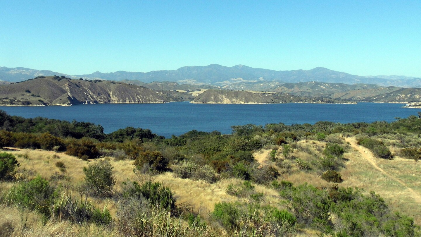 View of Cachuma Lake Recreation Area