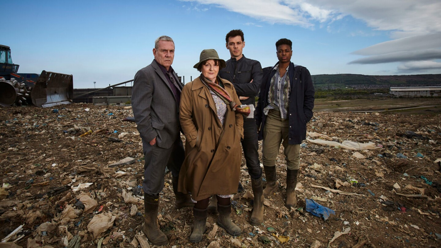 "The cast of ""Vera"" season 9."