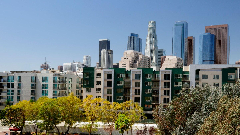 Los Angeles Skyline - Banner