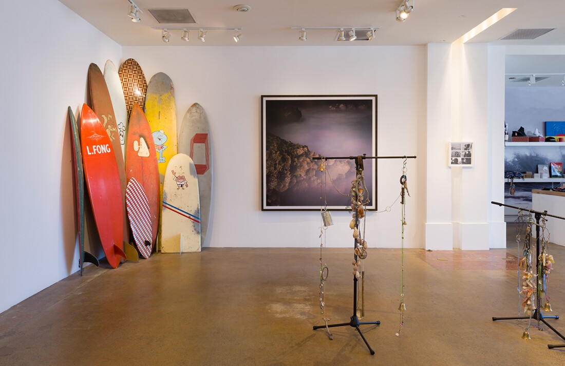 Installation view of Depart Foundation's Sea Sick in Paradise | Jeff McLane |Courtesy Depart Foundation.