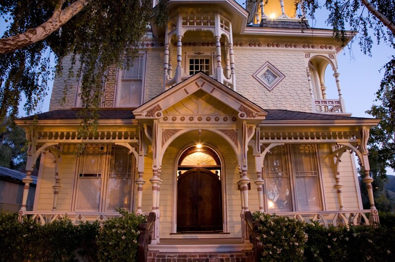 The Victorian Mansion, built in 1864   The Victorian Mansion