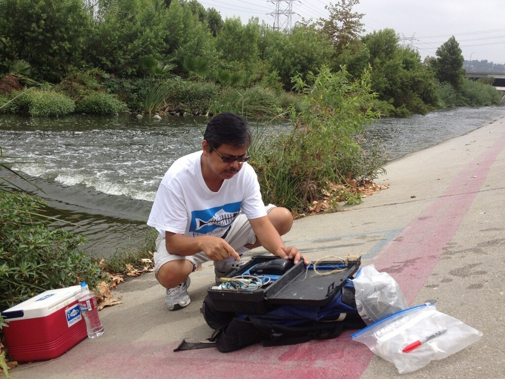 LA River Water Quality Sampling: Heal the Bay