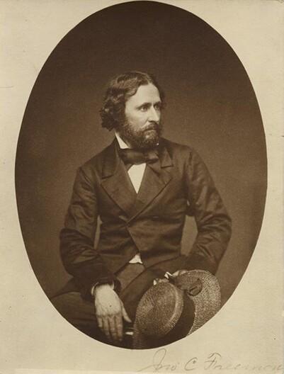 """The Pathfinder"" John C. Frémont (photographer unknown). | Wikipedia"