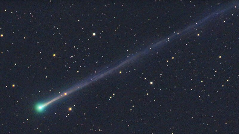 Comet 45P during its last visit in 2011. Photo: NASA