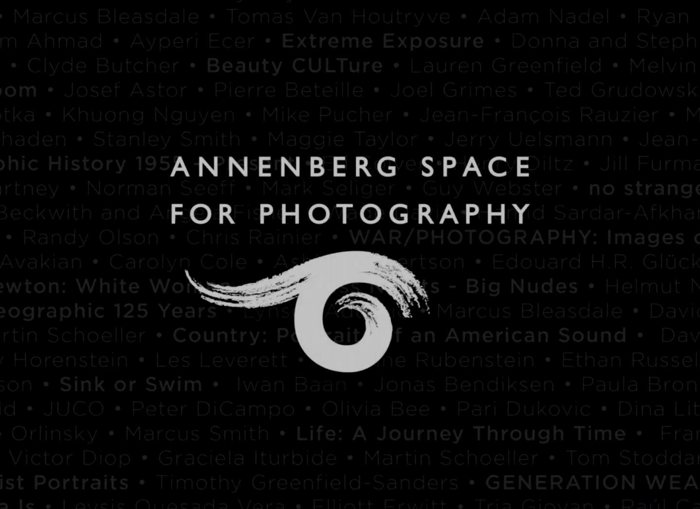 A screenshot of the Annenberg Space for Photography logo   Courtesy of the Annenberg Space for Photography
