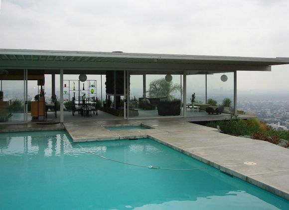The Stahl House (Case Study House No. 22) by Pierre Koenig.