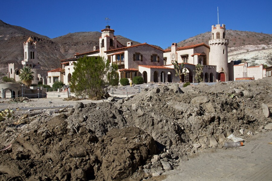 Scotty's Castle After Thousand-Year Flood - Death Valley, CA - 2015