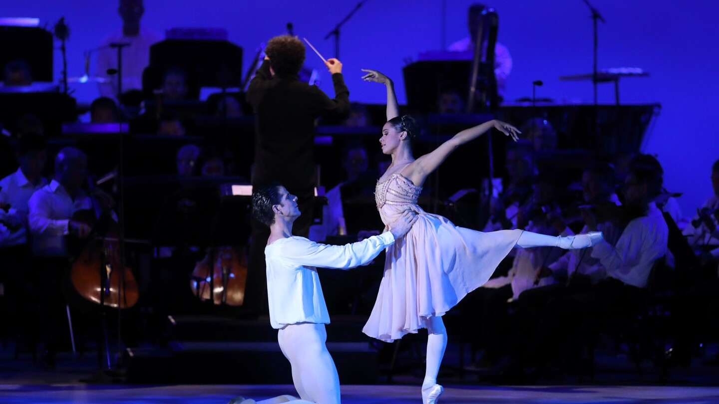 Misty Copeland, featured in the new series IN CONCERT AT THE HOLLYWOOD BOWL (Image courtesy of Mathew Imaging)
