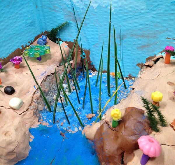 North Branch Diorama created by Parker Metzger, Isaac Pavalon, Derek Neuman, P.J. Liebeskind, and Georgia Slack